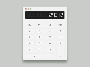 Calculator_mirror_print